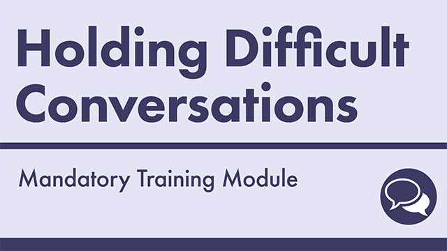 Cover image for: Holding Difficult Conversations at Work